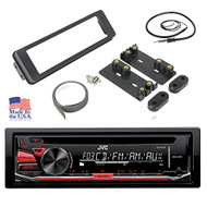 98-2013 HARLEY TOURING INSTALL ADAPTER FLHT STEREO RADIO FLHTC CD DASH KIT FLHX