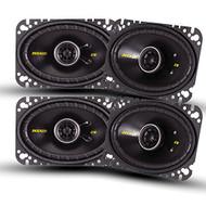 Kicker CS speaker package - Two pairs of Kicker CS Series 4x6 Coaxial 40CS464