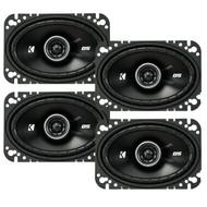 "4 x New Kicker 43CSC464 4x6"" 600W 2 Way Car Coaxial Speakers Stereo Audio CS464"