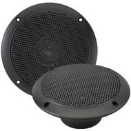 "Pair Of Magnadyne WR45B 5"" Inch Waterproof Marine, Boat, Hot Tub, Outdoor Speaker with Integrated Plastic Grill - Black"