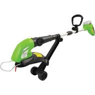 SereneLife Cordless Grass Trimmer Edger, Electric Garden Landscape Cutter, 18 Volt Rechargeable Battery