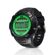 Pyle PAST44GN Multi-Function Sleep Monitor/Pedometer Step Counter/LED Backlight Sports Wrist Watch
