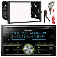 Pioneer FH-X731BT 2-Din AM/FM/CD/iPod Receiver, Metra 40-GM10 Antenna Adapter For Most GM Car Vehicles, Metra 70-2003 Radio Wiring Harness, Metra 95-2001 Double DIN Installation Dash Kit for Select 1990-Up GM Vehicles