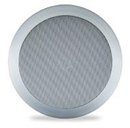 New PDIC81RDSL Pair 8-Inch 2-Way In-Ceiling Round Speaker System-250 Watt/Silver