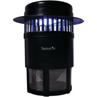 Outdoor Bug Zapper Trap, Electric Light Plug-in Pest Control, Chemical-Free Insect Mosquito Killer, Weather Resistant