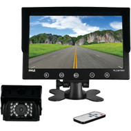 Pyle PLCMTR91 Weatherproof Rearview/Backup Driving Camera & Video Monitor System