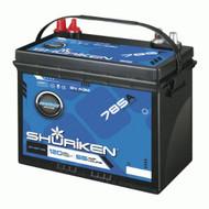Shuriken SK-MBT-55 AGM 12V Marine Grade Vehicle Battery For Cars And Boats