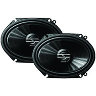 "Pioneer TS-G6820S 250 Watt 6 x 8"" 2-Way Coaxial Car Audio Speakers 6x8 Pair"