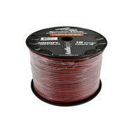 Speaker Cable 18 Ga. 1000' Audiopipe; Red + Black
