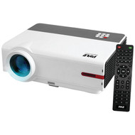 Pyle PRJLE83 1080p HD Home Theater Projector, Digital Display Screen Projects Up to 160'' (Mac & PC Compatible)