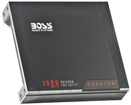 Boss Mono Block Amplifier 1500W Max Mosfet Phantom Series