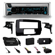 2014-15 HARLEY TOURING KENWOOD RADIO INSTALL ADAPTER FLHT FLHTC CD DASH KIT FLHX