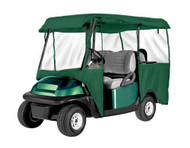 Armor Shield Deluxe 4 Sided Golf Cart Enclosure 4 Passenger, Fits Carts up to 95'' Length (Olive Color)