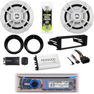 Bluetooth Stereo,Harley Dash Install FLHT Kit, Speakers, Adapters, Amplifier,XM tuner