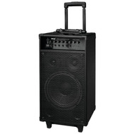 Pyle PWMA1080iBT Bluetooth Wireless & Portable PA Speaker System, Built-in Rechargeable Battery, 30-Pin iPod Dock, Wireless Microphone