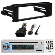 USB AUX CD Marine Receiver , 98-2013 FLHX FLHTC In Dash Harley Touring Adapter