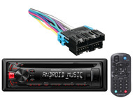 Kenwood Audio Car CD Mp3 USB AUX Receiver, CD Player Dash Installation Panel Kit