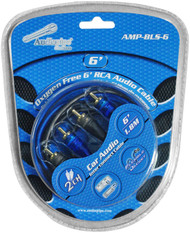 Audiopipe Oxygen Free Rca Audio Cable 6 Ft