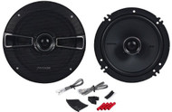 "New Kicker 41KSC654 6-1/2"" 6.5"" KS-Series 200 Watt 2-Way Car Audio Stereo Speakers Pair C654"