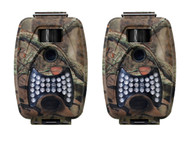2 Game Spy Trail Hunting Low Glow Infrared Digital Night Day Camera & Video 5 MP