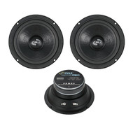 2 New PDMR6 6.5'' 1200 Watt Car Audio Mid Bass Mid Range Woofers Audio Speakers