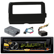 JVC KD-RD97BT Bluetooth iHeart Radio Pandora,USB AUX CD/MP3/WMA Player Receiver,  Scosche 2014-Up Harley Davidson Handlebar Controls, Scosche HD7001B 2014-Up Harley Davidson Stereo Install Dash Kit