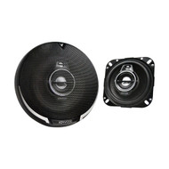 "Kenwood KFC-1095PS 4"" 3-Way Black Performance Series Flush Mount Car Coaxial Speakers"