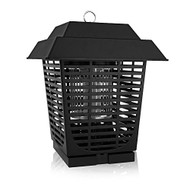 SereneLife Electric Bug Zapper, Indoor/Outdoor Electric Plug-In Pest Control, Chemical-Free Insect Killer