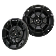 "Pair Of (Total Of 2) Kicker 40PS42 4"" Inch Weather-Proof Powersports Vehicles 2-Way 2-Ohm Coaxial ATV, Motorcycle, Marine, Boat, Speakers"