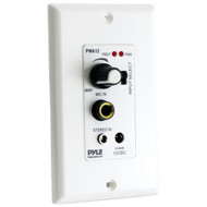 New Pyle PWA12 In-Wall/Wall Plate Amplifier with Aux Input & Microphone Input