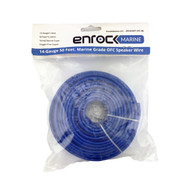 Enrock 50 Feet 14 AWG Gauge Marine Grade Speaker Wire Cable - 99.9% Marine Grade Oxygen Free Copper - Flexible Insulation Corrosion Resistant Jacket