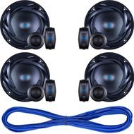 Autotek ATS65C ATS Speakers - Set of 2, 14 Gauge 50 Foot Speaker Wire