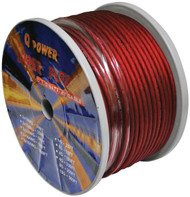 Power Wire 8Ga. 250' Red Qpower