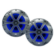 Dual DMS6516 6 1/2 2-way marine speaker with blue light LED illumination