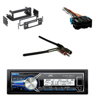 KDX35MBS USB Mp3 AUX Receiver, GM Wire Harness,Antenna Adapter, GM Metra DIN Kit