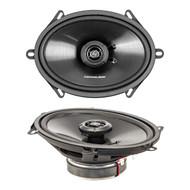 Lightning Audio by Rockford Fosgate L57 5x7-Inch 3-Way Full Range 4 OHM Speaker, Set of 2