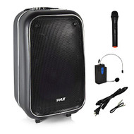 Pyle Surround Bluetooth Portable Bluetooth Speaker, Set of 1, Black (PWMA1225BT)