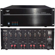 New Pyle PT8000CH 19'' Rack Mount 8000 Watt 8 Channel Stereo/Mono Amplifier Amp