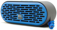 MBQUART QUBThree Dual Driver Wireless Bluetooth Speaker (Blue)