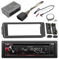Harley Touring 98-2013 Touring Install FLHX Adapter Kit,Kenwood USB CD AUX Radio