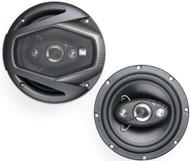 """New Pair Of Dual DLS654 6.5"""" 6 1/2 Inch 4-Way 160-Watt Car Audio Speakers"""