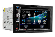 Dual DV526BT Double-DIN CD DVD Car Stereo Receiver with Built-In Bluetooth