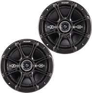 "Kicker DSC674 6.75"" Inch 120 Watt RMS 2-Way Black Car Audio Stereo Coaxial Speaker - Pair"
