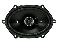 "2) Kicker 43DSC6804 D-Series 6x8"" 200 Watt 2-Way 4-Ohm Car Coaxial Speakers Pair"