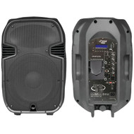 New PPHP127AI 12'' 1200W 2 Way Full Range PA Speaker w/Built-In iPod Dock USB SD