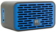 MB Quart QUB2.10201 QUBTwo Dual Driver Wireless Bluetooth Speaker with 8-Hour of Music, Blue