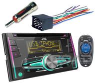 JVC 2Din CD USB Car Radio,BMW Stereo Antenna Adapter & Installation Wire Harness