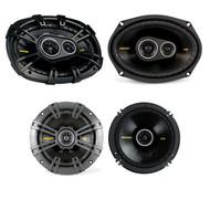 "This Bundle Combo Kit Includes 2 X 40CS6934 6X9"" Inch Car Audio Stereo Coaxial Speakers + 2X Kicker 40CS54 5.25"" 450 Watt Coaxial Speakers"