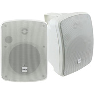New Pyle PDWR54BTW Waterproof and Bluetooth 5.25'' Indoor/Outdoor Speaker System, 600 Watt, Black, Pair