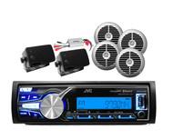 KDX31MBS iPod USB AUX Input Bluetooth Radio Receiver, 800W Amplifier+ 6 Speakers